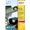 Avery Heavy Duty Label 200x143.5mm Wht L7068-20 (400 Labels)