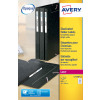 Avery Lever Arch Filing Labels Inkjet (Pack of 100) J8171-25