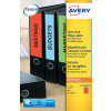 Avery Lever Arch Filing Labels 200x60mm J7171A-25(80 Labels)