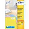 Avery High Vis Mini 38x21mm Neon Ylw L7651Y-25 (1625 Labels)