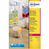 Avery High Vis Round 63.5 DIA Yellow L7670Y-25 (300 Labels)