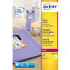 Avery Glossy Colour Labels 139x99mm L7769-40 (160 Labels)