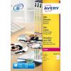 Avery Full Face CD/DVD Laser 117mm DIA L7776-25 (50 Labels)
