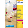 Avery L7990R-25 Neon Red Printable Warning Labels Pack 200