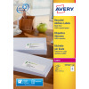Avery LR7162-100 99.1x33.9mm QPEEL Recycled Labels PK1600