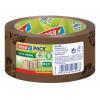 tesa EcoLogo Printed PP Tape 50mmx66m Brown 58155 PK6
