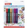 tesa Glitter Pens 6 assorted vibrant colours 59900 PK12