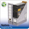 Fellowes Bankers Box Magazine File A4 Ref 0186004 [Pack 10]