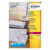 Avery L7161-500 63.5x46.6mm QuickPEEL Laser Labels PK9000