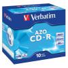 Verbatim Pack 10 CDR Branded 80Min 52X 700Mb