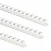 Fellowes 19mm A4 Plastic Comb White PK100