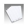 Rexel Crystalfile Flexitab Inserts White 3000058 (PK50)