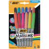 Bic Permanent Markers Fine Colour Intense Assorted 943163