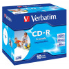 Verbatim CDR Printable 80Min 52X Box Of 10
