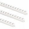 Fellowes Plastic Binding Combs A4 8mm White 5345406 (PK100)