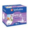 Verbatim DVD+R 16X Jewel Case Pack Of 10