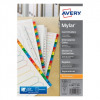 Avery Mylar 1-25 Reinforced Dividers Reinforced A4 05225061