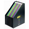 Snopake Eligo Desk Expander 13-Parts Portrait Black