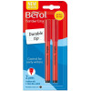Berol Handwriting Clip Pen Pk2 - Black 3P