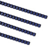 Fellowes Plastic Binding Combs A4 6mm Blue 5345106 (PK100)
