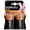 D Duracell Plus Batteries PK2