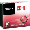 Sony CDR 48X Pack 10 Slim Case