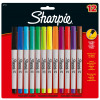 Sharpie Ultra Fine Point Permanent Markers Assorted PK12