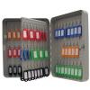 Value Key Cabinet Steel GY Lockable Fixings 93 Keys