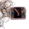 Value Rubber Bands Asstorted Colours and Sizes 75g