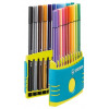 Stabilo Point 68 Fibre Tip Pen Assorted PK20
