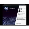 HP 81X Hi-Yield Black Toner Cartridge