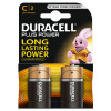 C Duracell Batteries PK2