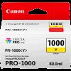 Canon LFP PFI1000 Yellow Ink 80Ml
