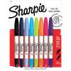 Sharpie Twin Tip Perm Ultra Fine & Fine Tip Assorted PK8