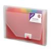 Snopake Rainbow 13 part Expanding Organiser A4