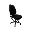 Carlisle Pump Up Lumbar Operator Chair Black