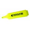 Value Highlighter Flat Barrel Chisel Tip Yellow (PK10)