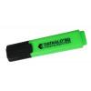 Value Highlighter Flat Barrel Chisel Tip Green (PK10)