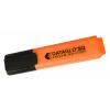 Value Highlighter Flat Barrel Chisel Tip Orange (PK10)