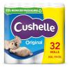 Cushelle Toilet Rolls White (Pack 32 for 24)