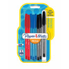 PaperMate InkJoy 100 Capped 1.0 mm Med Assorted Fun Clr PK8