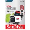 Sandisk microSDHC 16GBAdapter 98MBs Class10