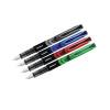 Zebra Fountain Pen Assorted Black Blue Red Green Pack 4