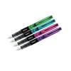 Zebra Fountain Pen Assorted Lt Blue Violet Pink Green PK4