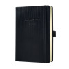 CONCEPTUM Week to View Hardcover 2019 Diary A5 Black