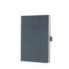 CONCEPTUM Week to View Hardcover 2019 Diary A5 Dark Grey