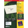 Avery LR7160-100 63.5x38.1mm QPEEL Recycled Labels PK2100