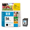 HP C6656A Black Ink Cartridge 7150 7350 No.56