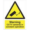 Warning CCTV Cameras Sign