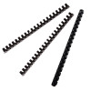 Value Fellowes Binding Combs A4 12mm Black 6201101 (PK100)